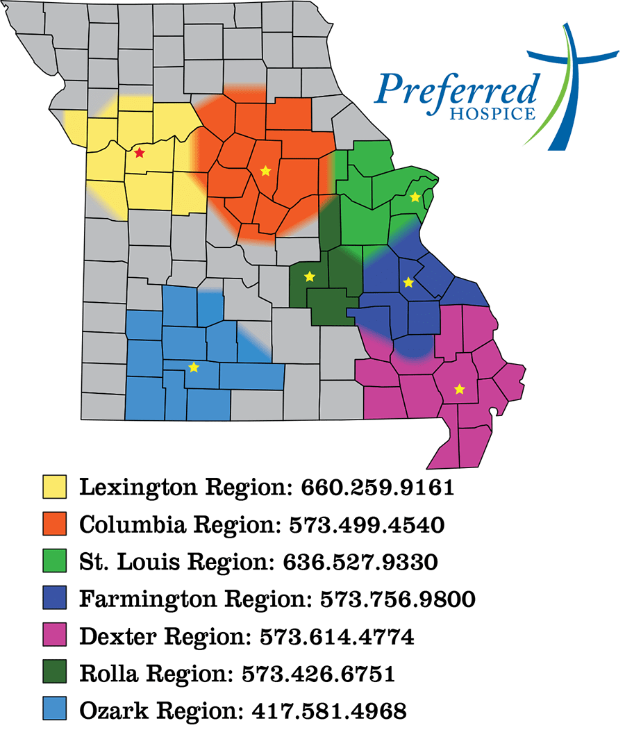 Preferred Hospice Locations In Missouri